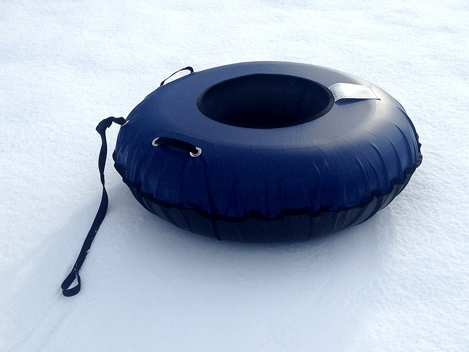 Tube In A Box, Original and Best Swim and Snow Inner Tube (45  bluee Cover (only))