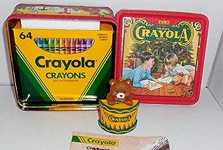 1992 Crayola Crayon Collectible Holiday Tin