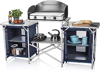 9d50ae2f725 Cocina de camping Málaga Campart Travel KI-0732 – Con paravientos – Dos  compartimentos de