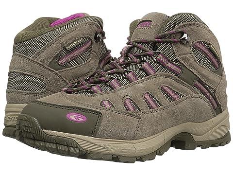 Hi-Tec BANDERA LITE MID WP WOMENS - Walking boots - taupe/dune/boysenberry