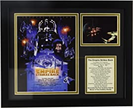 """Legends Never Die """"Star Wars The Empire Strikes Back Special Edition Framed Photo Collage, 11 x 14-Inch"""