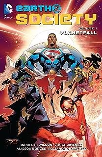 Earth 2: Society (2015-2017) Vol. 1: Planetfall (English Edi