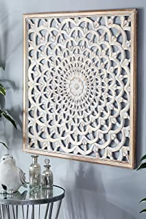 Deco 79 23791 Wooden Wall Panel, 36