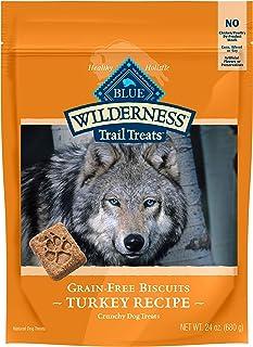 Blue Buffalo Wilderness Trail Treats Grain Free Biscuits Crunchy Dog Treats