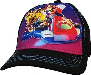 Nintendo Super Mario Black 3D Pop Baseball Cap - Size Boys 4-7  6014 6ecce674aea0