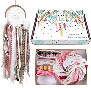 The House Phoenix DIY Dream Catcher Kit Craft Project for Kids & Adults 5