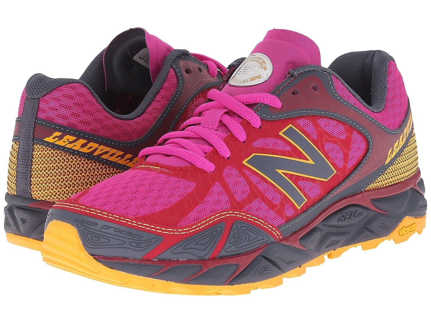 ホールドオール線動機付ける(ニューバランス) New Balance レディースランニングシューズ?スニーカー?靴 Leadville Pink/Grey 9 (26cm) D - Wide