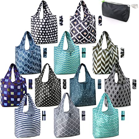 Durable and Lightweight/Polyester Bag Water Resistant Daypack for Women /& Men Unisex Shopping Bags Reusable Compact Foldable Backpack with Drawstring