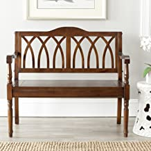 Best indoor wooden bench with back Reviews