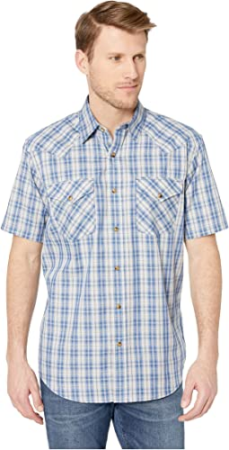 Short Sleeve Frontier Herringbone Shirt