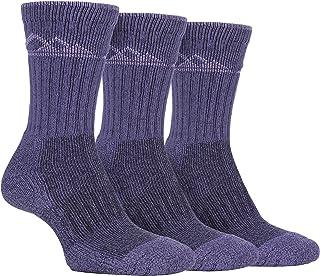 3 Pack Mujer Algodon Antiampollas Senderismo Montaña Calcetines para Botas
