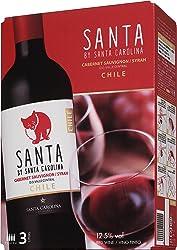 【チリの名門ワイナリーが作る、リッチな味わいのテーブルワイン】チリワイン サンタ バイ サンタ カロリーナ カベルネ・ソーヴィニヨン/シラー バッグインボックス [ 赤ワイン ミディアムボディ チリ
