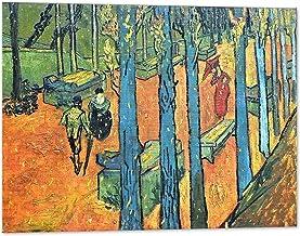 Kuader Les Alyscamps Vincent Van Gogh – 100 x 80 cm