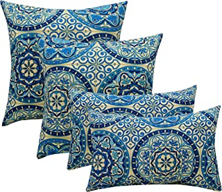Resort Spa Home Set of 4 Indoor/Outdoor Pillows - 17