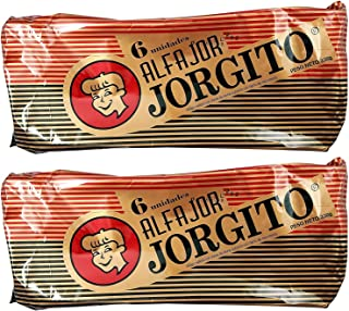 JORGITO Alfajor de Dulce de Leche con Cobertura de Chocolate, 6 ct. 330 gr
