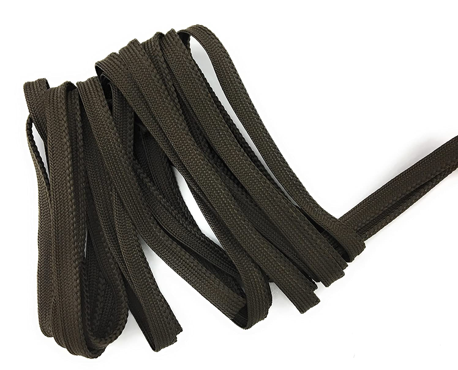 Cord-edge -Piping Trim Brown weave -Lip Cord for Clothing Pillows, Lamps, Draperies 5 Yards Pi-129/108
