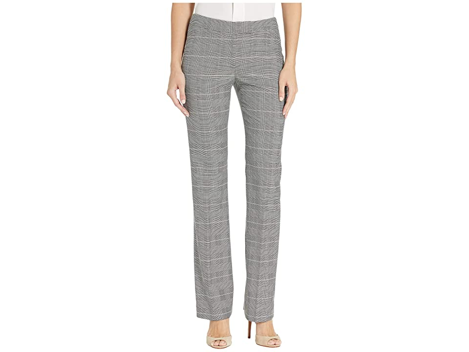 Anne Klein Flare Leg Pants (Anne Black/Anne White Combo) Women