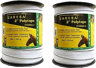 "Zareba Systems 2"" Poly Tape (2 Pack), 500`"