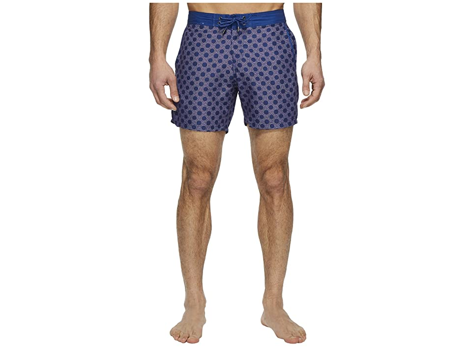 Mr. Swim Figure 8 Chuck Swim Trunks (Navy) Men