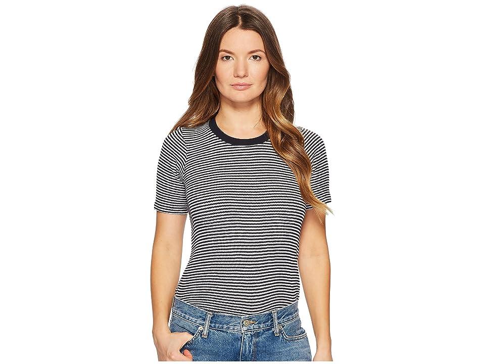 BLDWN Sabina (Navy/White) Women's T Shirt