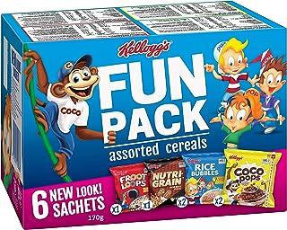 Kellogg's Fun Pack, Breakfast Cereal, 170g
