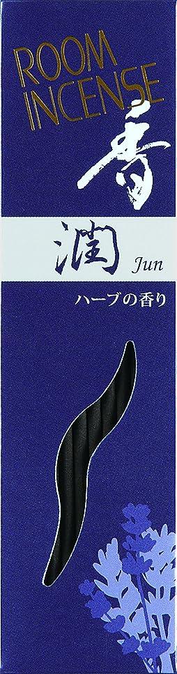 老人透けて見えるデッキ玉初堂のお香 ルームインセンス 香 潤 スティック型 #5562