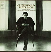 GLENN GOULD Plays Bach The Six Partitas 3 LP BOX SET 1st pressing COLUMBIA D3S 754 stereo 2 eye 360 sound audiophile piano