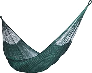 HAMMOCKS RADA- Handmade Yucatan Hammock - DURASOL - Dark Green - 3 Years Full Warranty in Outdoor and More Comfortable