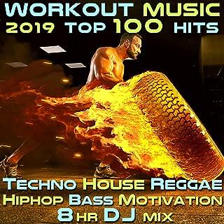Workout Music 2019 Top 100 Hits Techno House Reggae Hip Hop Bass Motivation 8 Hr DJ Mix