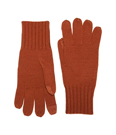 Madewell Antibacterial Knitted Gloves (Faded Rust) Snowboard Gloves