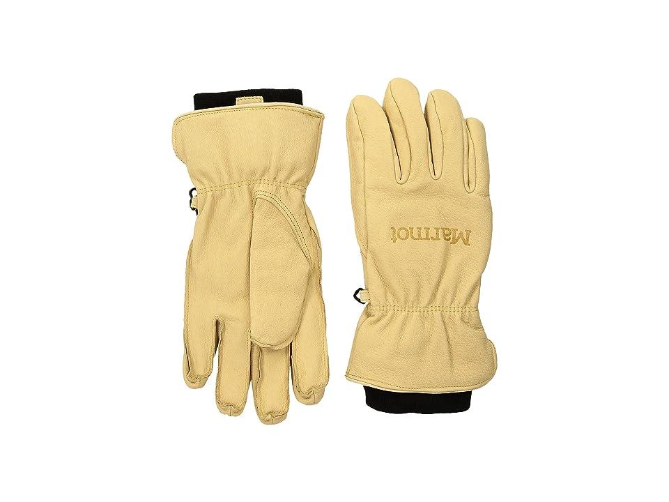 Marmot Basic Ski Glove (Tan) Extreme Cold Weather Gloves