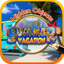 Hidden Object Summer Beach Vacation – Hawaii, Florida, California, Italy, Mexico, Bahamas & Travel Puzzle Pic Find Photo Spot the Difference Searching for Missing Objects