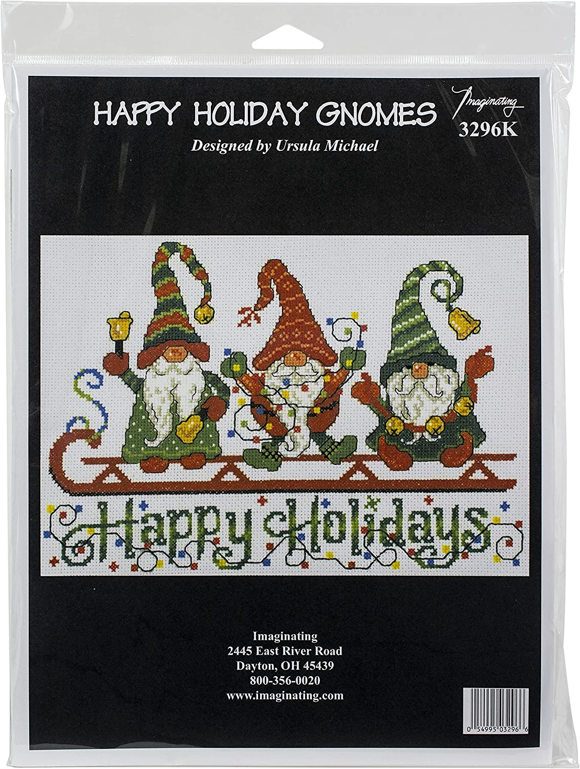 M R Technologies Cross Stitch Easy-to-use Xmas C Holiday Great interest Happy 14 Gnomes