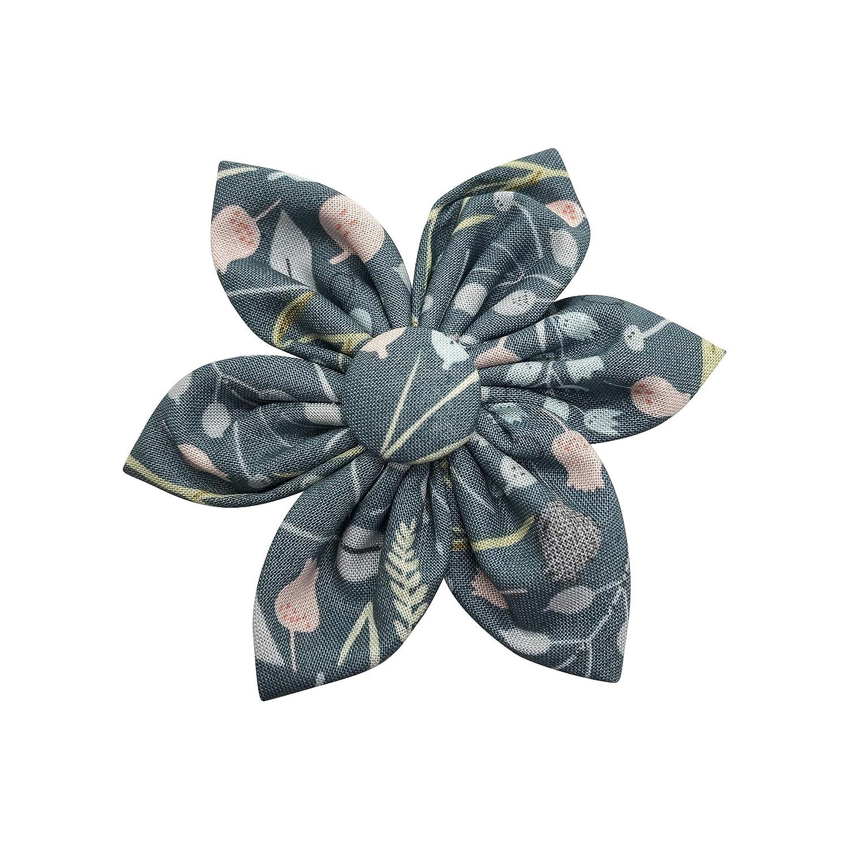 Handmade Flower Branded goods Girls Hair with Bow Genuine Alligator Clip