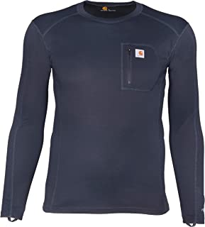 Carhartt Men's Force Midweight Tech Thermal Base Layer Long Sleeve Shirt
