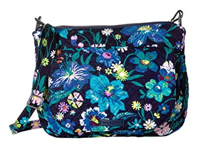 Vera Bradley Carson Shoulder Bag (Moonlight Garden) Shoulder Handbags