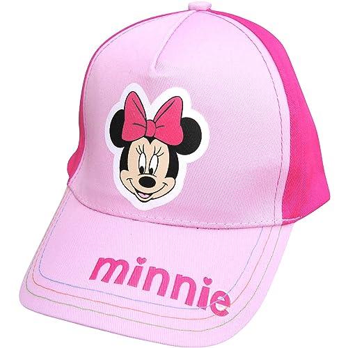 281dc3edf35b3 Girl s Disney Minnie Mouse Pink Summer Baseball Cap Beach Sun Hat