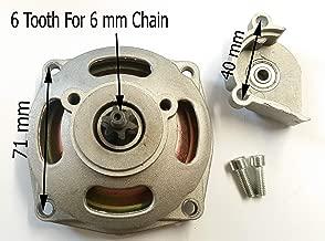 Carcasa de embrague con pi/ñ/ón frontal de 8 dientes Orange Imports Ltd CL017 Race Moto Mini Quad