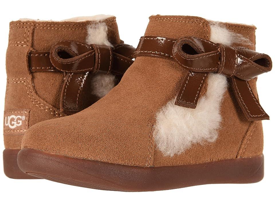UGG Kids Libbie (Toddler/Little Kid) (Chestnut) Girls Shoes