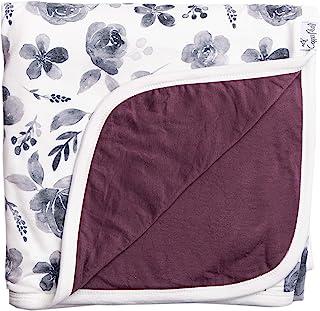 بطانية لحاف أطفال فاخرة من النحاس مقاس كبير من 3 طبقات قابلة للتمدد بلون زهور روان