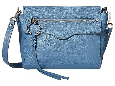 Rebecca Minkoff Gabby Crossbody (Cement Blue) Handbags
