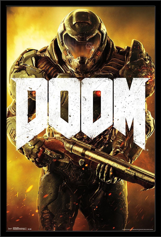 Trends International Wall Poster Doom Marine, 22.375 x 34