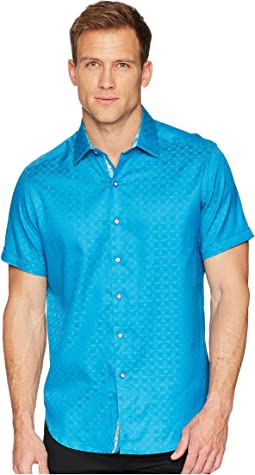 Robert Graham Diamante Short Sleeve Sports Shirt
