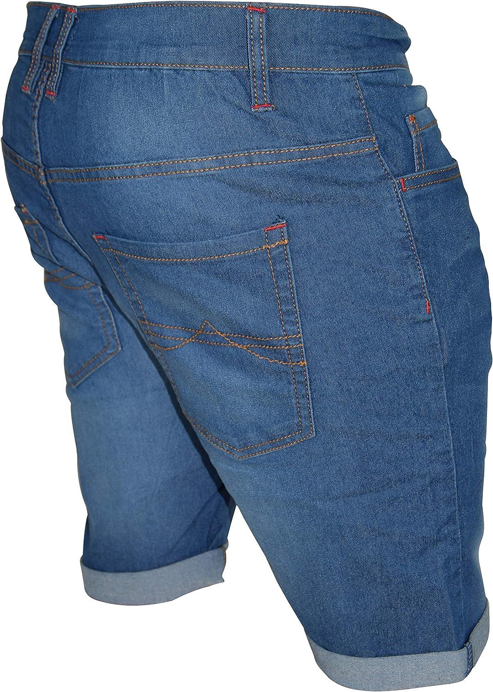 Men/'s Denim Shorts Bermuda Jeans Regular fit Half Pants Chinos