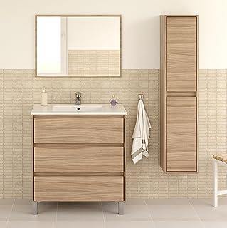 Miroytengo Pack mobiliario baño Que Incluye Mueble Lavabo 3