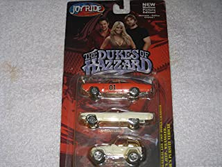 Dukes of Hazzard 3 pack -- General Lee, Daisy Jeep, Roscoe's Pursuit Vehicle