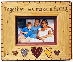 Haven X596-07 Natural Wood Family Figure Frame