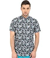 Ben Sherman - Short Sleeve Record Print Woven MA12409A