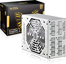 Super Flower Leadex Gold 1300W 80+ Gold, ECO Fanless & Silent Mode, Full Modular Power Supply, Dual Ball Bearing Fan, 10 Y...