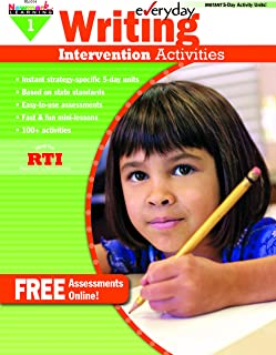 Newmark Learning Grade 1 Everyday Writing Intervention Activity Aid (Eia)